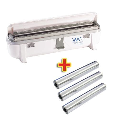 Special Offer Wrapmaster 4500 Dispenser and 3 x 90m Foil
